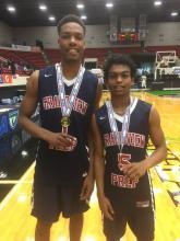 Shawn Occeus  & Juwan Frazier of Grandview Prep